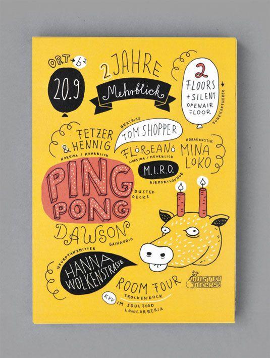 24 eye-catching flyer designs