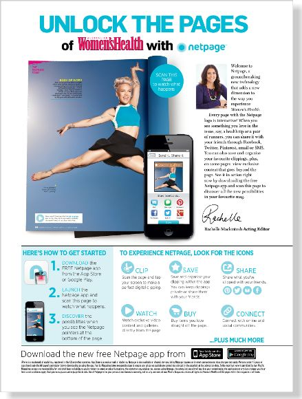 How to use Netpage. Clipped from Women's Health using Netpage.