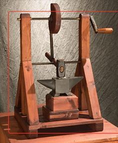 Leonardo da Vinci Exhibit - the Models - Automatic Hammer Machine