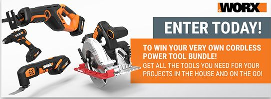 WORX Power Tool Sweepstakes - Ends March 31st