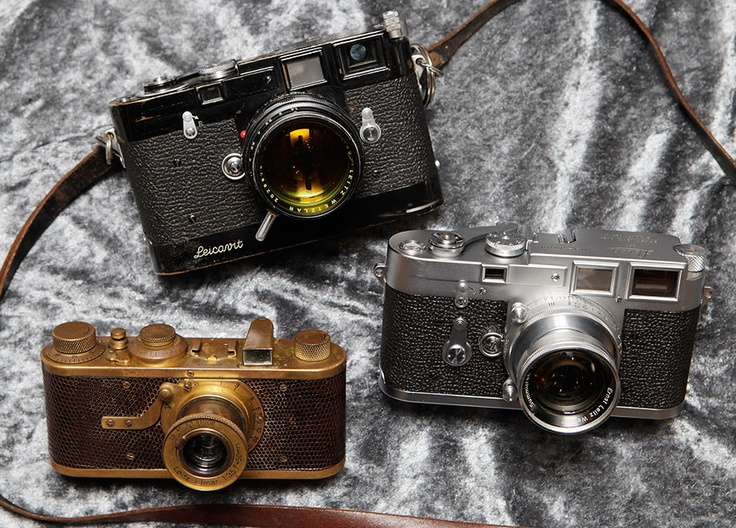 The three most expensive serial production Leica cameras sold for €3.6 million at the latest Westlicht auction