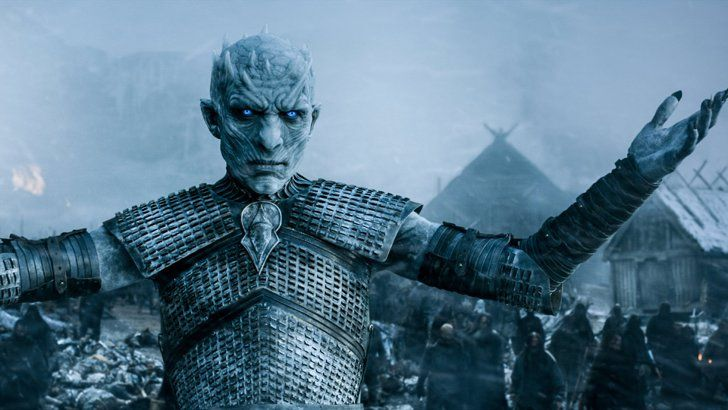 Pin for Later: Did You Catch Both Game of Thrones Actors on Peaky Blinders' Season 3 Premiere? Richard Brake as The Night's King in Game of Thrones And here he is summoning his dead army and challenging Jon Snow to bring it on Game of Thrones. Weird, right?