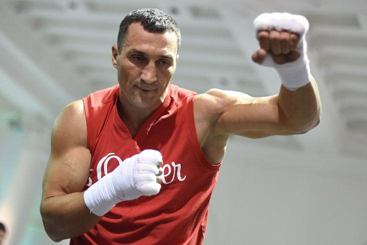 Wladimir Klitschko's showdown to decide spot in boxing history Wladimir Klitschko  #WladimirKlitschko