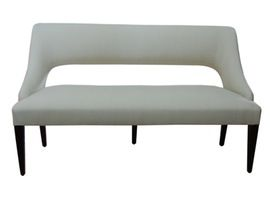 Warner Settee  MidCentury  Modern, Transitional, Upholstery  Fabric, Settee by Bjork Studio