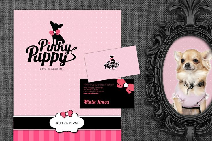 Pinky Puppy identity design by @Dekoratio Brand Studio