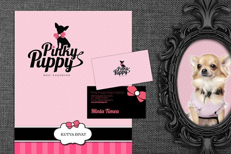Pinky Puppy identity design by @Dekoratio Brand Studio