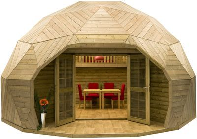 Houten iglo