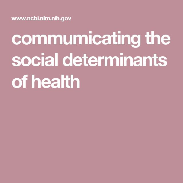 sociology and social determinants Understanding the social determinants of health is important for health promotion, health prevention and also for crafting an approach to treatment and health care that considers people's uneven exposures to social and cultural risks or resources.