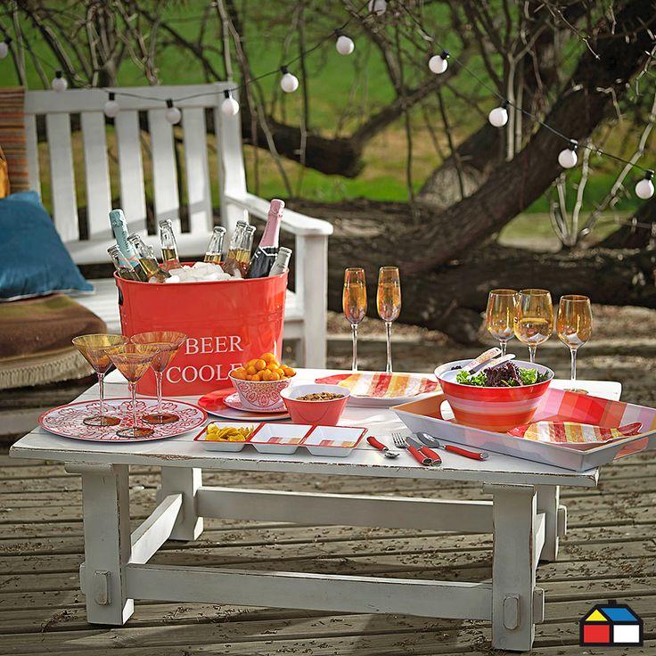 ¡Colores en tu #menaje #terraza #jardin!