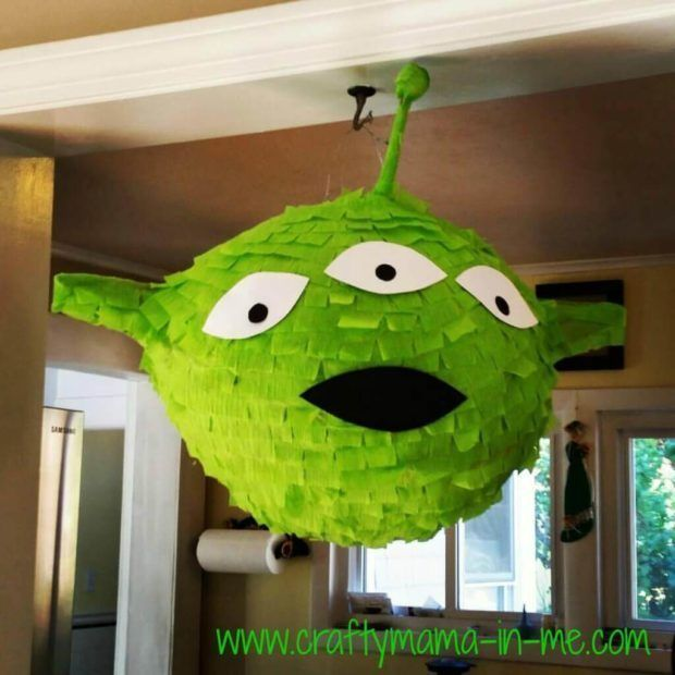 Diy Toy Story Alien Pinata Toy Story Party Toy Story Birthday Party Toy Story Party Decorations