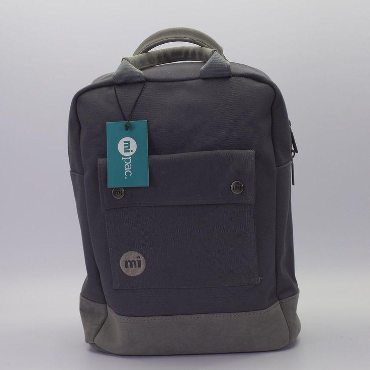 Mi-Pac Canvas σε γκρι χρώμα, ξεχωρίζει με το canvas υλικό και τις suede λεπτομέρειες. Διαθέτει μία μεγάλη θήκη με τσέπη στο μπροστινό μέρος, εσωτερική θήκη για λάπτοπ και επένδυση στους ιμάντες και το πίσω μέρος του backpack για μεγαλύτερη άνεση. Ιδανικό για όλες τις ώρες της ημέρας. #sneakerstown #mipac #mipactote #mipaccanvas #fashion #streetwear #skateboarding #lifestyle #backpack #women #womensfashion
