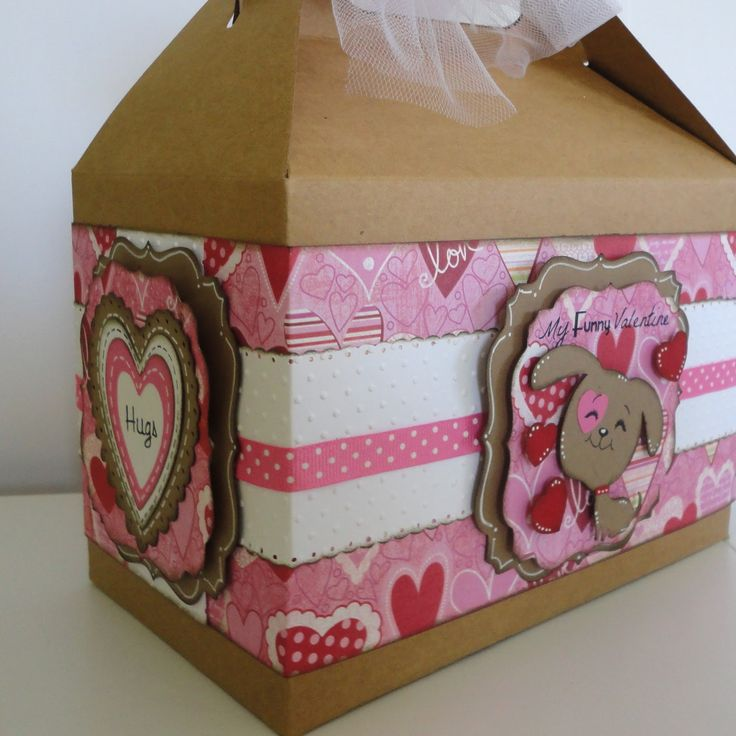 Valentines Day Gable Boxes  to find these kraft gable boxes go to  http://b2bwraps.com/collections/gable-boxes