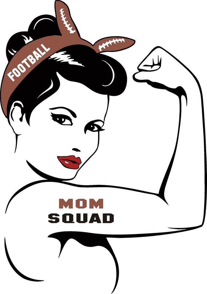 Football Mom Svg Football Svg Football Rosie Svg Girl