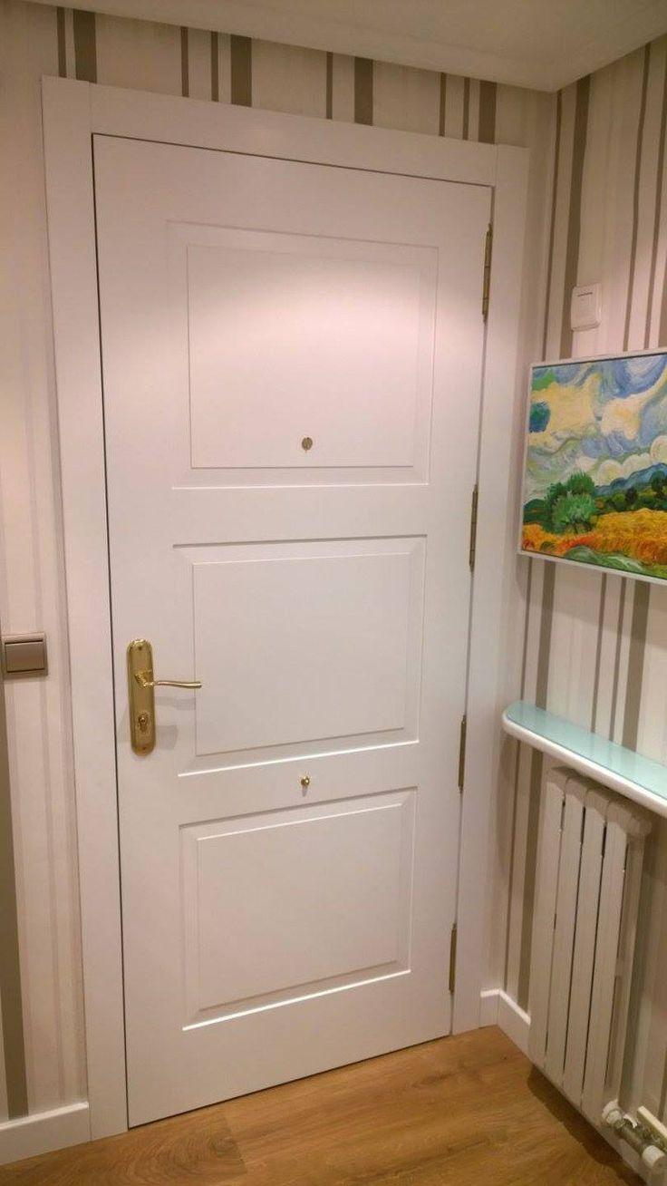 M s de 25 ideas incre bles sobre puertas lacadas en - Como colocar puertas correderas ...