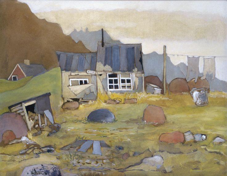 Holger Hattesen: Augpiladoq, Grønland (1990)