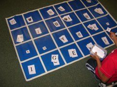 This whole site is awesome!  Lots of ideas for literacy centers and guided reading activities!