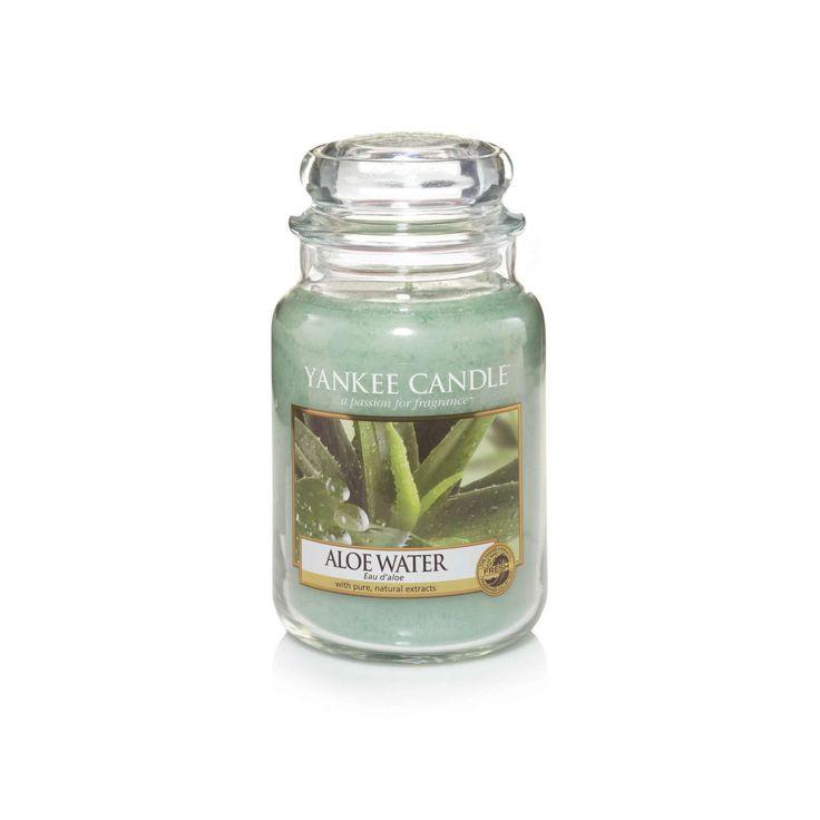 Yankee Candle Aloe Water giara larga - Elisabetta Mondo