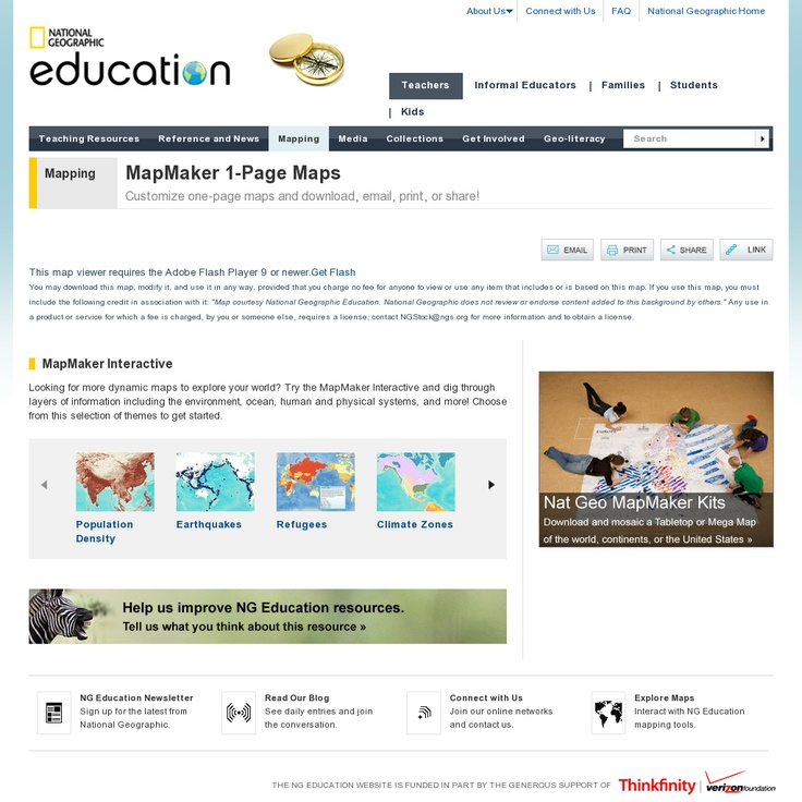 MapMaker 1Page Maps Customize onepage maps and download email