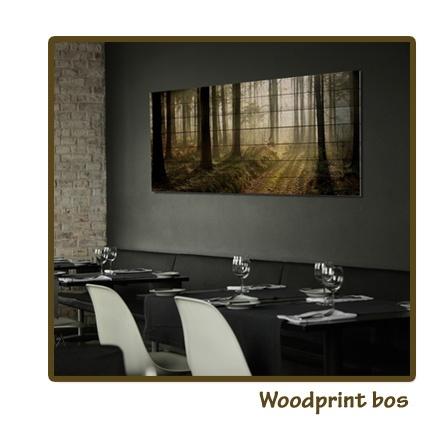 Woodprint bos (verkrijgbaar via Claessens Styling)