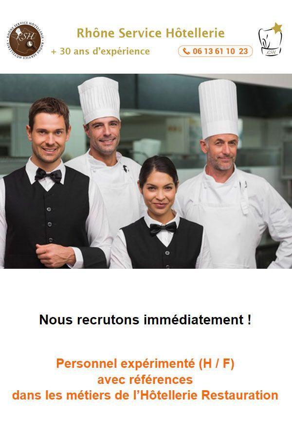 Offres D Emploi Restauration Hotellerie Emploi Restauration