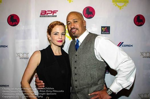 Kelli Shane and Brian Perry attending the Charity Allnighter Nov 22 2013