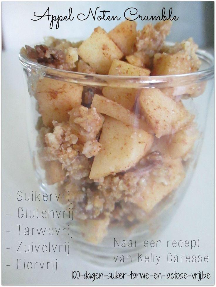 Appel noten crumble