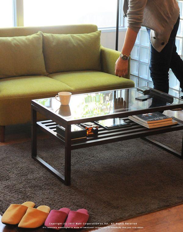 【楽天市場】テーブル ローテーブル QUATTRO (クアトロ) ガラステーブル 棚付き リビングテーブル/センターテーブル/木製/ガラス/座卓/北欧/お洒落/:J.パルス(インテリア家具・雑貨)