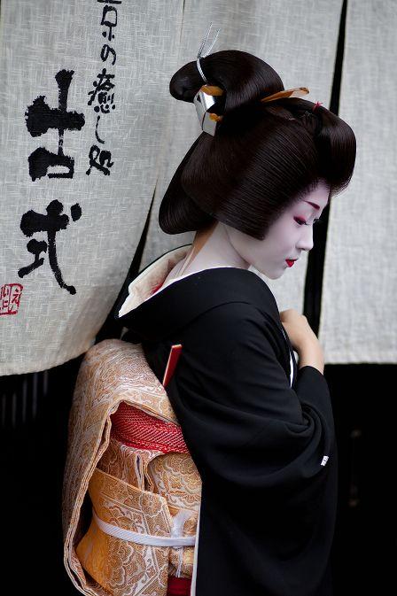Geiko in Kyoto, Japan. 芸妓, 京都, 日本