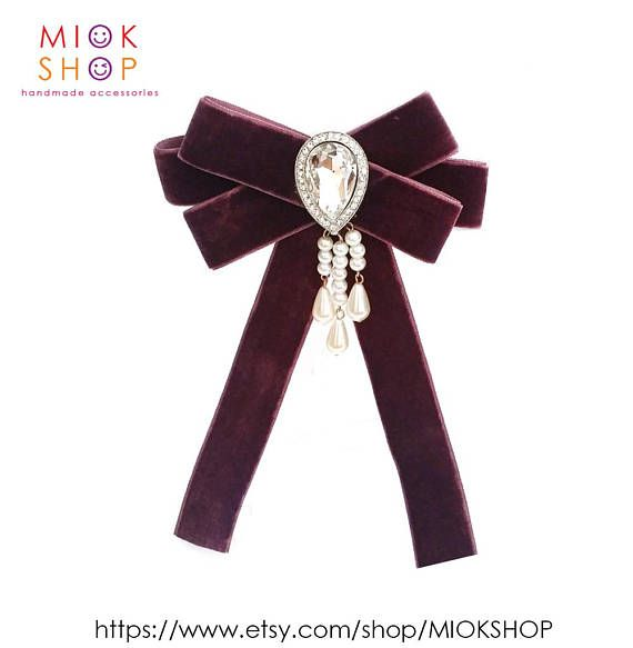 Gucci BowGucci inspired Purple bow brooch Gucci styleBow