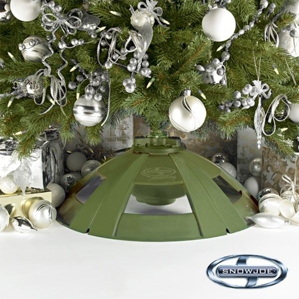 Holiday Rotating Tree Stand for Artificial Trees by Snow Joe   Maxwells Attic
