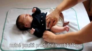 Anavy plenka pro novorozence - video, jak přebalovat