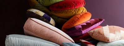 Elegant, Bright and Cheerful Cushions by Christina Lundsteen