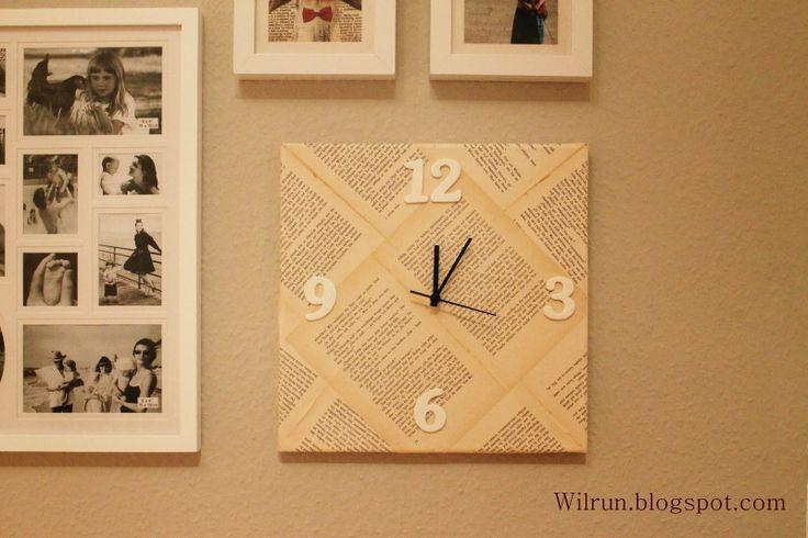 7 best diy eulen uhr basteln images on pinterest home accessories owl clock and wall clocks. Black Bedroom Furniture Sets. Home Design Ideas