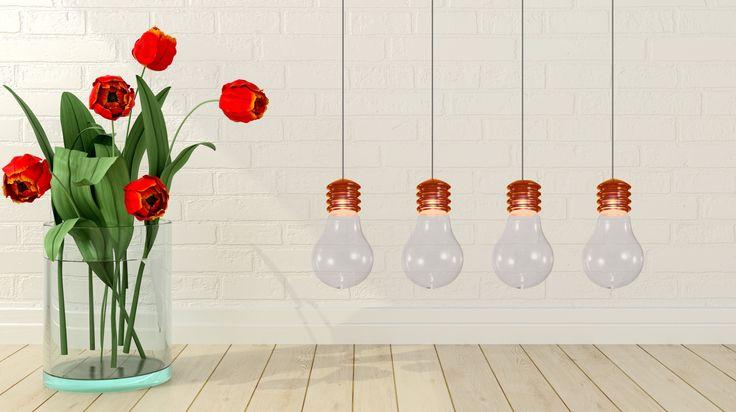 Wiosenne światło? Tylko dzięki lampie Zuma Line Bulbo :)