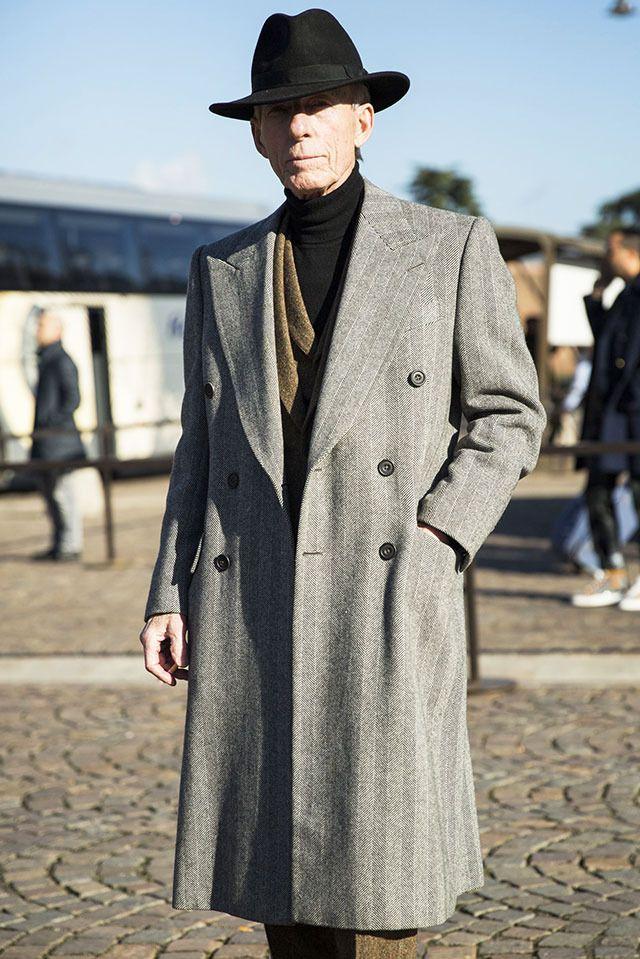 Длинные пальто опять в моде
