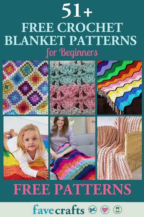 Find over 51 free crochet afghan patterns for beginners in our collection. View the gallery to find a crochet blanket you like, then check out the full pattern. All of the patterns in this collection are free and easy.   #crochet #blanket #crocheting #crochetpattern #freepattern #afghan