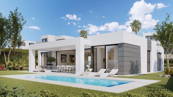 3 Bedroom Luxury Villa For Sale In Cabopino Marbella Malaga Andalusia 87880903 Luxuryestate Com Modern Villa Design Villa Design Dream House Exterior