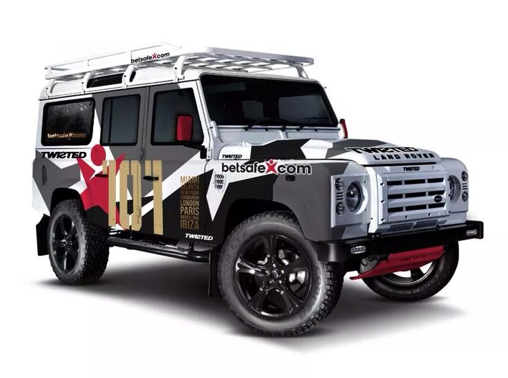 Gumball 3000 2014 Twisted Lr Defender Tuning Amp Special