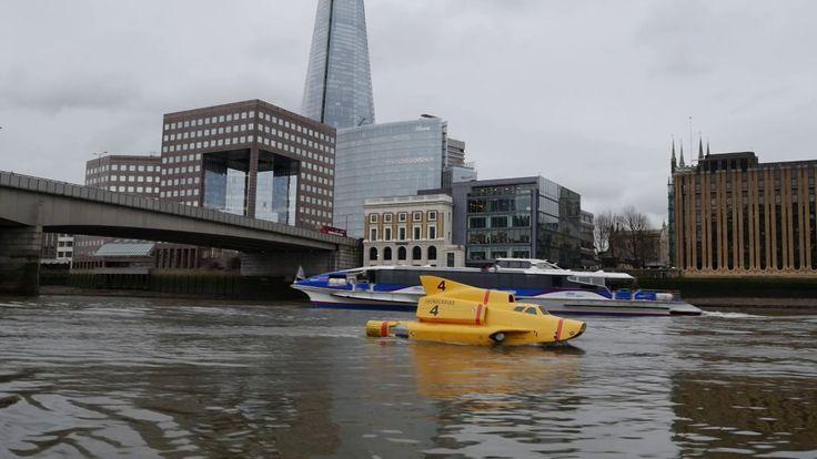 Thunderbirds are go on the Thames!
