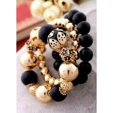 Vintage Vogue Bead Bracelets