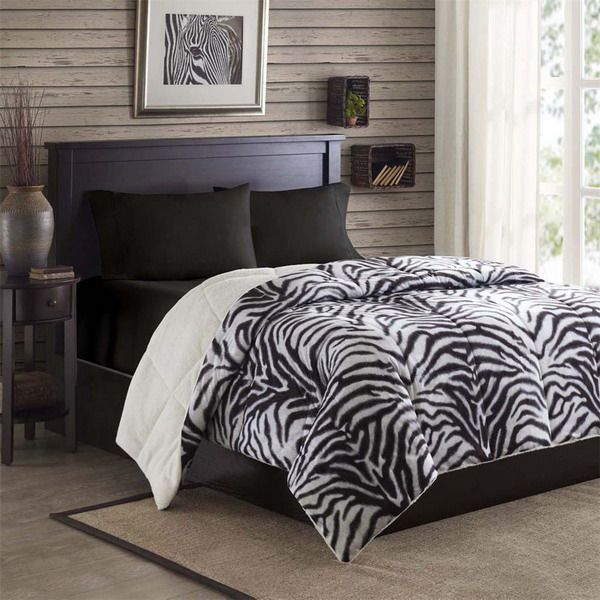 Zebra Print For The Interior Bedroom Ideas Cool