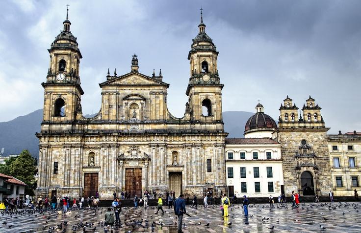 Plaza de Bolivar. Bogotá.