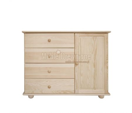 Komoda drewniana sosnowa [55] Meble Drewniane - meble sosnowe producent, łóżka, komody, witryny