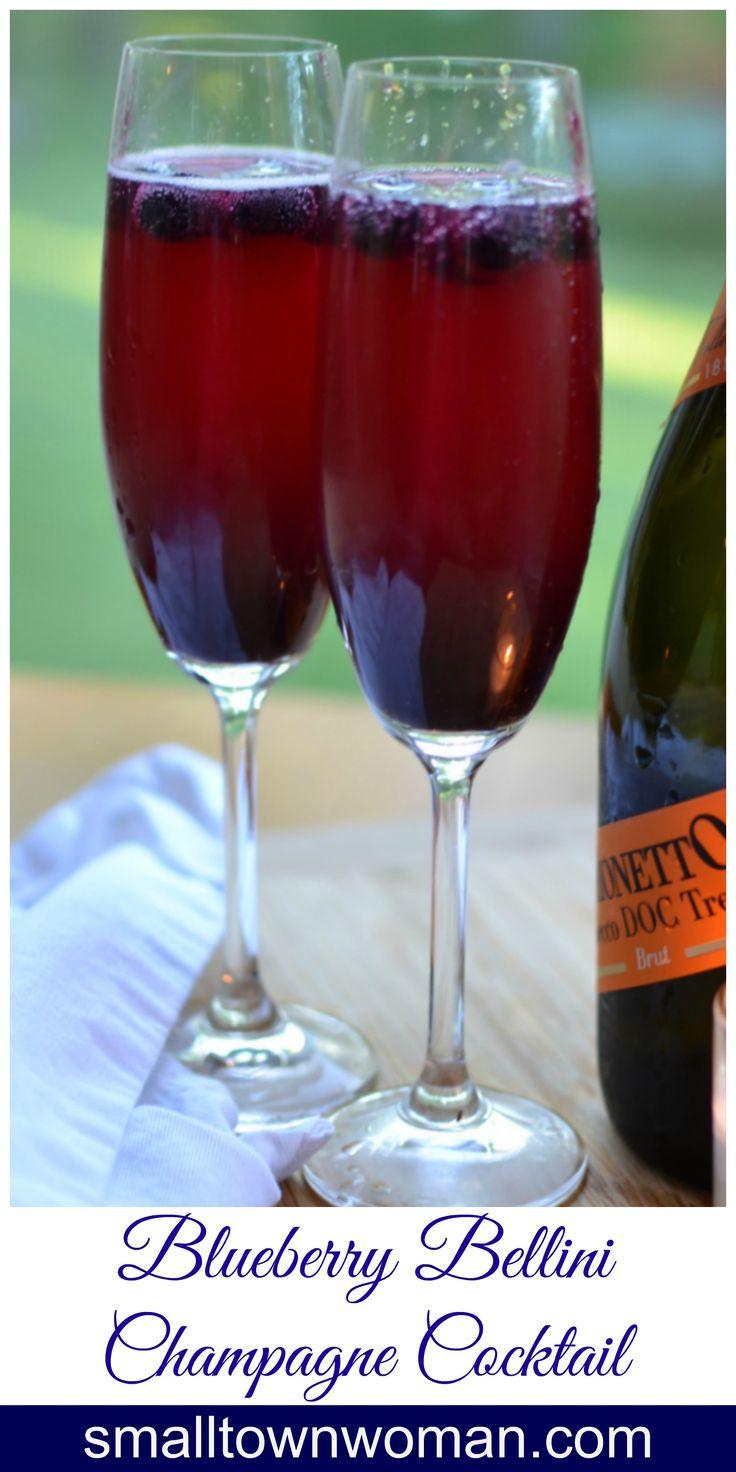 ... bellini peach thyme bellini berry bellini cocktail recipe dishmaps