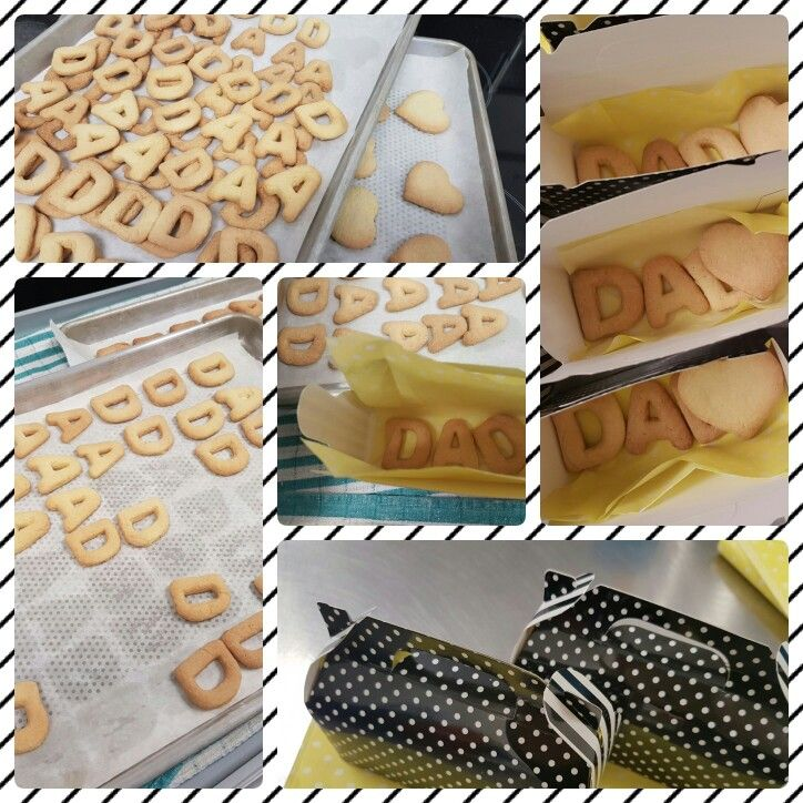 Father's day baking ideas