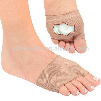 THV-064 Footcare Socks Gel Cushions Metatarsal Strap