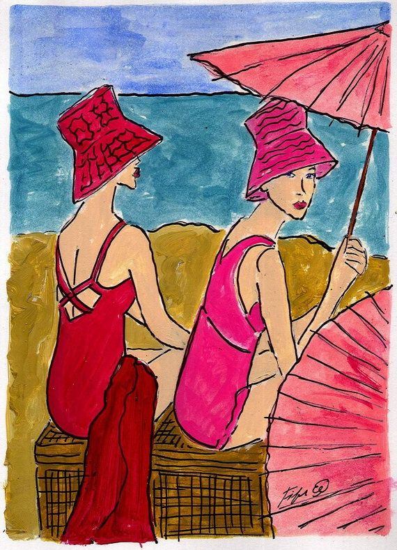 Lányok a parton