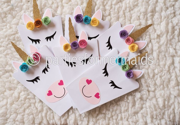 Unicorns  Party popcorn or Favor Boxes - Unicorn Birthday Party- Unicorn Favors- Unicorn Boxes - Unicorn Treat Box Set of 10 by PartiesForMermaids on Etsy https://www.etsy.com/listing/517603739/unicorns-party-popcorn-or-favor-boxes