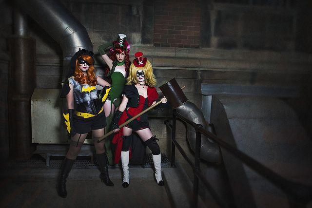Sneak Peak at The Geekettes first Photoshoot | Harley Quinn | Batgirl | Poison Ivy | No Flutter | Steampunk