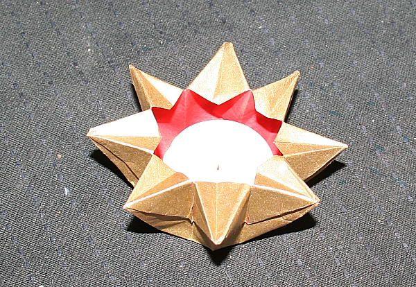Christmas decorations - paper lantern star